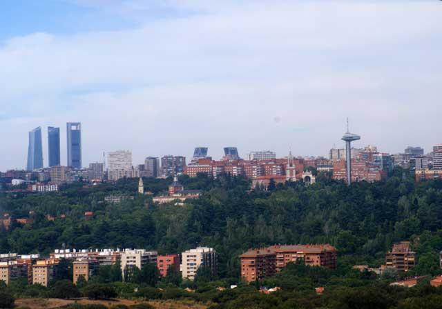 Небоскребы Мадрида