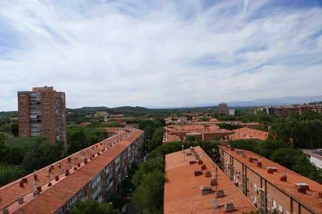 Над крышами Мадрида